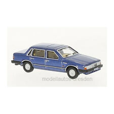 Oxford 226706 VOLVO 760 bleu métallique échelle 1:76 maquette de voiture NOUVEAU