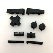 GBM Black Left Right Button Keypad L R A B D-Pad For Nintendo GameBoy Micro