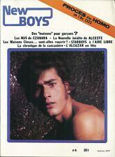 NEW BOYS 1979 Gay homosexualité RARE TBE L'Alcazar Histoire maison close LGBT
