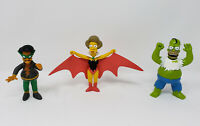 Playmates The Simpsons Halloween 3 Pack Homer Apu Edna Bongo Comics Toy Figures