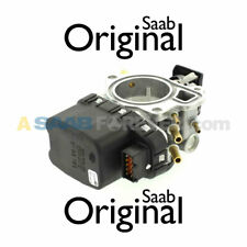 NEW SAAB 9-3 9-5 2.3L THROTTLE BODY UNIT MODULE 1999-2003 GENUINE OEM 9188186