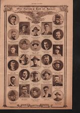World War I Roll of Honor 1919 Deaths of Heros WWI #82