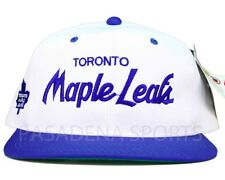 "TORONTO MAPLE LEAFS VINTAGE 1990's ""SPORTS SPECIALTIES"" SNAPBACK CAP NWT nhl"