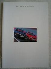 BMW M Models brochure 1994 Ed 1