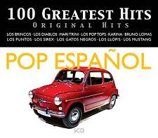 100 GREATEST HITS POP ESPAÑOL