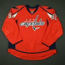 2016-17 Zach Sanford Washington Capitals Game Issued Hockey Jersey MeiGray NHL