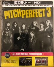 Pitch Perfect 3  (4K Ultra HD, Blu-ray, Exclusive Steelbook Edition)