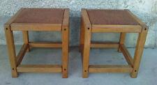 2 Tabourets design 60/70 estampillé SENTOU LALINDE FRANCE stool