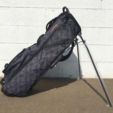 NEW TaylorMade Golf 2019 Custom FlexTech Lite Lifestyle Stand Bag Gray Canvas