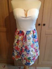 STUNNING LIZETTE COLLECTION STRAPLESS DRESS UK SIZE S-M (10-12) NWT RRP $339