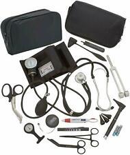 Complete Nurse Diagnostic Kit Blood Pressure Monitor,Stethoscope,Otoscope,+ More