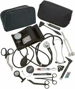 Complete Nurse Diagnostic Kit Blood Pressure Monitor,Stethoscope,Otoscope,+ More