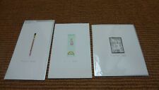 3 limited edition original prints/etchings  by Michele Noach