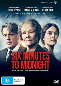 Six Minutes To Midnight (DVD, 2021) NEW