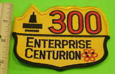 Us Navy Enterprise Centurion 300 Military Patch New Free Shipping !