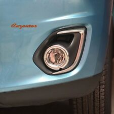 Chrome Front Fog Light Lamp Cover For Mitsubishi Outlander Sport RVR 2011-2015