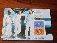 CPA timbre suisse BERN 1969 APOLLO 11 UIT HELVETIA aldrin ARMSTRONG collins NASA
