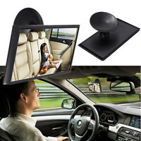 12cm Car Easy Rear Back Seat Baby Child Kids Safety View Mirror Suction Mirror