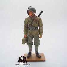 Figurine Collection Del Prado soldat plomb Caporal Italien Bersagliers 1944