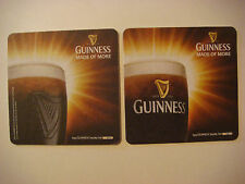 BEER Brewery Coaster ~*~ GUINNESS Brewing Co. Stout <> IRELAND ~*~ Made for More