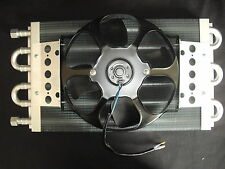 "AUTO TRANSMISSION COOLER WITH ELECTRIC FAN 10 .1/2 "" X 21 """