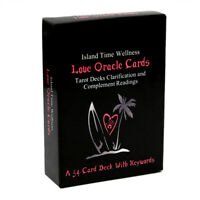 54 Love Oracle Cards Tarot Decks Clarification and Complement Deck With Keywords