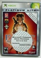 Fable The Lost Chapters Microsoft Xbox Complete w/ Manual