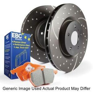 EBC S8KR1089 Rear S8 Kit Orangestuff & GD Rotors For 2013-2018 Ford F-250 SD NEW