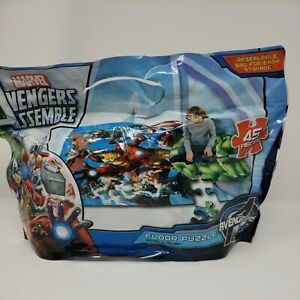 Marvel AVENGERS 45 Piece Giant Floor Jigsaw Puzzle NEW Factory Sealed