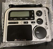 Midland Emergency Survival AM FM Weather Alert Crank Power Radio Model ER102