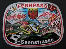 Auto-Aufkleber Fernpass 6 Seenstraße Tirol Zugspitze Ehrwald Mittersee Souvenir