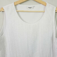 JEANSWEST | Womens White Tank Top [ Size AU 12 or US 8 ]
