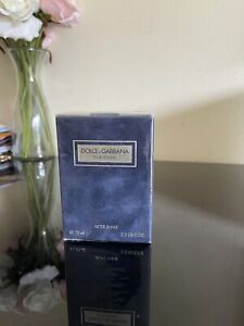 DOLCE GABBANA POUR HOMME AFTER SHAVE LOTION 75ML (VINTAGE BRAND NEW SEALED)
