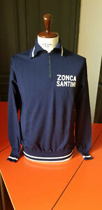 Vintage 1976 Zonca cycling jersey pullover maglia ciclismo Vittore Gianni