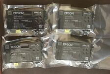 4 New Genuine EPSON 802 initial Ink cartridges---WF-4720/4730/4734/4740