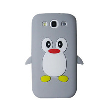 KOLAY™ 3D Penguin with Screen Protectors for the Galaxy S3 (in retail packaging)