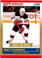 MATT TAORMINA 2010-11 Score Rookies and Traded Gold #640 ($0.75 MAX SHIP)