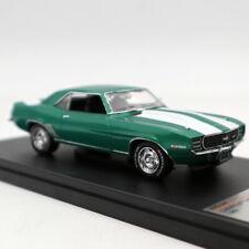 Premium X 1:43 Chevrolet Camaro RS 1969 Metallic Green PRD549 Limited Diecast
