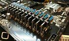 PCIe Riser Clip Locks for ASRock H110 Mining Rig