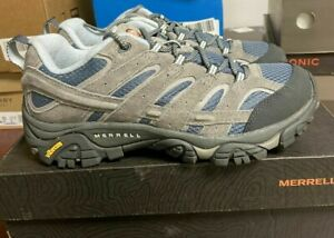 Merrell Women's Moab 2 Vent Hiking Shoe Smoke Size 8.5  WIDE Store Return #406