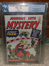 Journey Into Mystery #83 PGX 9.6 1966 1st Thor! GRR! Free CGC mylar! K10 120 cm