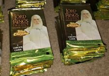 Lot of 24 Sealed 2004 Topps Chrome Lord of the Rings Retail Packs Look for Autos