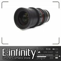 NEW Samyang 35mm T1.5 VDSLR II Lens for Sony E-Mount