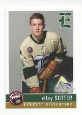 2015-16 Everett Silvertips (WHL) Riley Sutter (Washington Capitals)