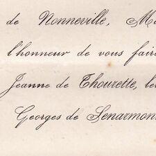 Marie Jeanne Joséphine De Thourette De La Muette 1872 Georges De Senarmont