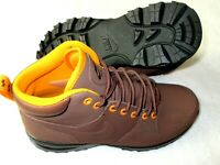 Nike Manoa Leather Men's Work Boots Fauna Brown Orange Black 454350 203 NEW