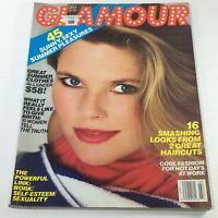 VTG Glamour Magazine: July 1986 - Christie Brinkley Cover No Label/Newsstand