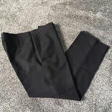 Tailor & Cutter Mens Boys Black Regular Fit Work School Trousers Size W 36 L 29S
