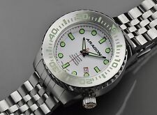 Aragon A254WHT Divemaster EVO Automatic 50mm Super Luminova Dial