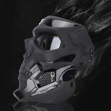 Máscara De Halloween Esqueleto Airsoft Cool media cara máscaras para deportes de Fiesta Juego